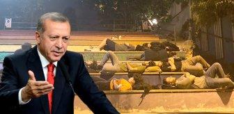 Bu görüntüler Erdoğan'ı kızdırdı!