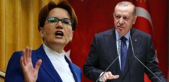 Akşener'den Cumhurbaşkanı Erdoğan'a sert yanıt: Maalesef bunu da demişsin