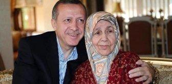 Erdoğan, annesinin ölüm yıl dönümünde duygulandırdı! Arşivindeki kareyi ilk kez paylaştı