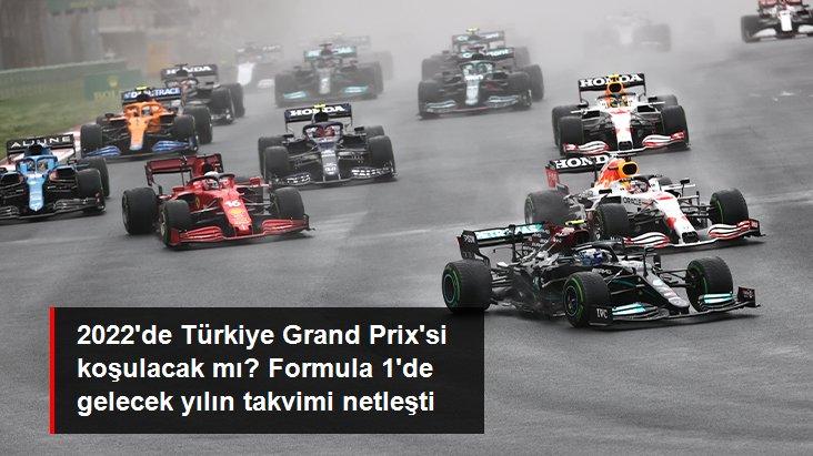 2022 de Türkiye Grand Prix si koşulacak mı? Formula 1 de gelecek yılın takvimi netleşti
