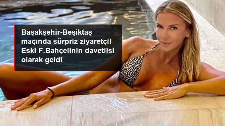 Başakşehir-Beşiktaş maçında sürpriz ziyaretçi! Eski F.Bahçelinin davetlisi olarak geldi