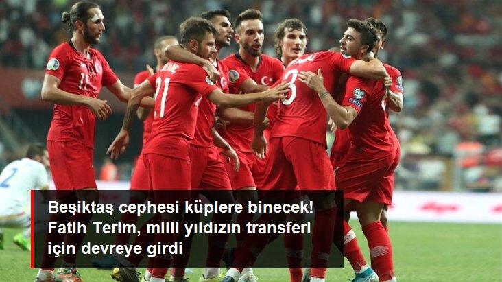 Beşiktaş cephesi küplere binecek! Fatih Terim, milli yıldızın transferi için devreye girdi