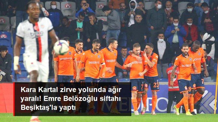 Kara Kartal zirve yolunda ağır yaralı! Emre Belözoğlu siftahı Beşiktaş la yaptı