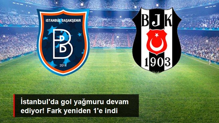 İstanbul da gol yağmuru devam ediyor! Fark yeniden 1 e indi