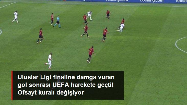 Uluslar Ligi finaline damga vuran gol sonrası UEFA harekete geçti! Ofsayt kuralı değişiyor