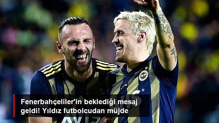 Fenerbahçeliler in beklediği mesaj geldi! Yıldız futbolcudan müjde