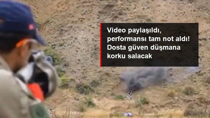 Türkiye'nin ilk çoklu bombaatarı göreve hazır! Videosu paylaşıldı, performansı tam not aldı