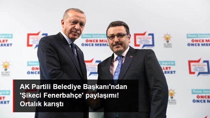 AK Partili Belediye Başkanı ndan  Şikeci Fenerbahçe  paylaşımı! Ortalık karıştı