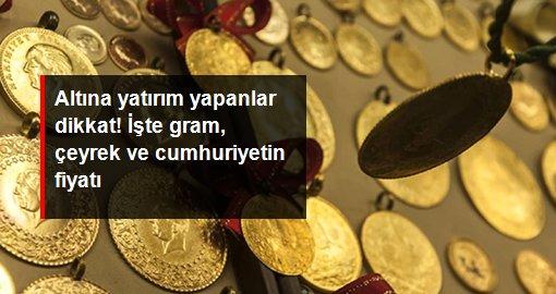 Altının gram fiyatı 527 lira seviyesinden işlem görüyor