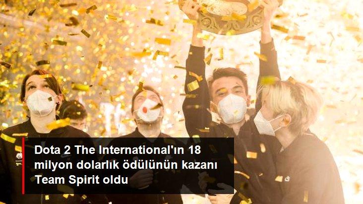 Dota 2 The International ın 18 milyon dolarlık ödülünün kazanı Team Spirit oldu