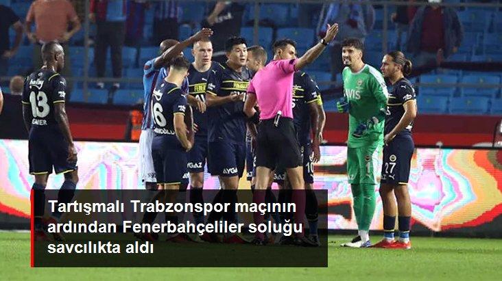 Tartışmalı Trabzonspor maçının ardından Fenerbahçeliler soluğu savcılıkta aldı