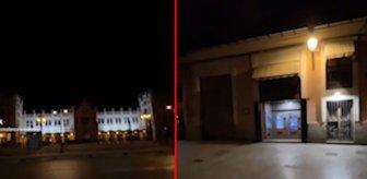 2027 yılından geldiğini söyleyip, bir de video paylaştı! Sokaktaki detay ürküttü