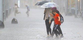 Meteoroloji'den 4 il için kuvvetli sağanak uyarısı! Sel riskine dikkat