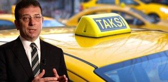 İmamoğlu, 8 maddelik yeni taksi sistemini açıkladı! Taksicilerin maaşları bile belli