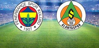 Kanarya zirve yolunda hata istemiyor! Fenerbahçe-Alanyaspor maçı başladı