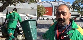 İçinde 650 bin TL olan çantayı sahibine ulaştıran temizlik görevlisinin hediyesi üzdü